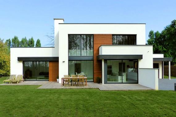 Bâtir son avenir accéder à la propriété maison contemporaine et traditionnelle