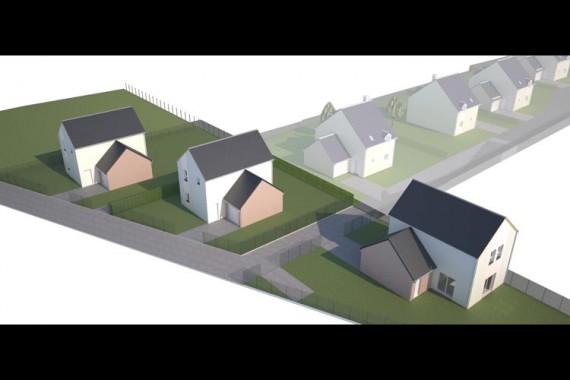 JOUE-LES-TOURS Place des Vaux Programme de 9 maison individuelles agence tti 37 constructeur immobilier indre-et-loire